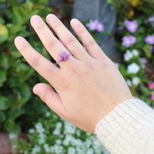 Load image into Gallery viewer, tsuki-jewelry - Fluorite Ring - Mikazuki Crystal Co. - Ring
