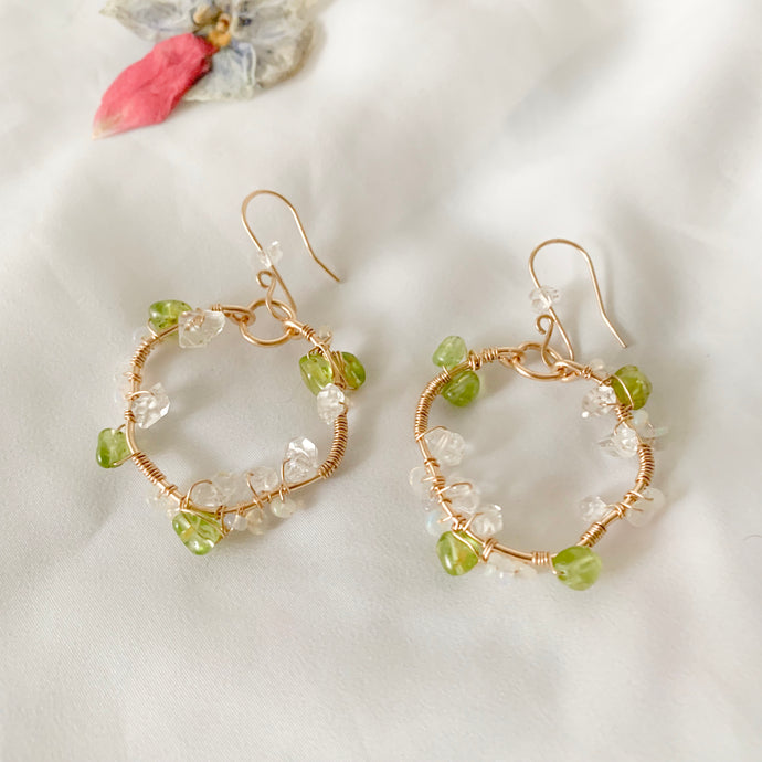 Ivy Organic Hoop Earrings