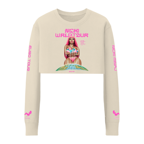 NICKI'S SONS CROPPED CREWNECK