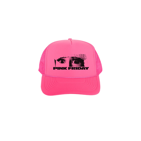 PINK FRIDAY NEON TRUCKER HAT