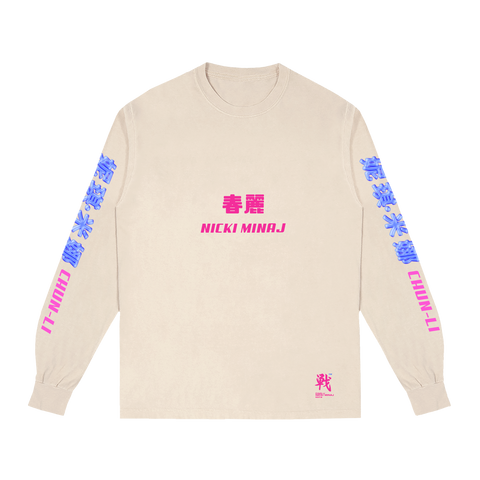 Chun-Li Logo Long Sleeve + Album