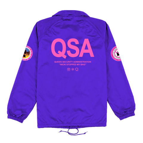 QSA Purple Coaches Jacket