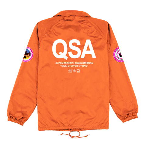 QSA Orange Coaches Jacket