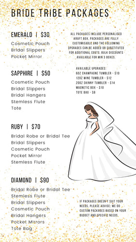 Bride Tribe Packages