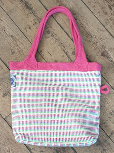 HANDWOVEN BAG PINK