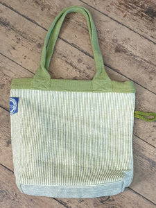 HANDWOVEN BAG GREEN