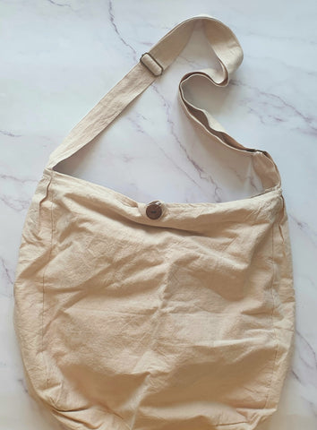 Creamy colour bag