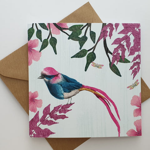 PRETTY BIRD CARD