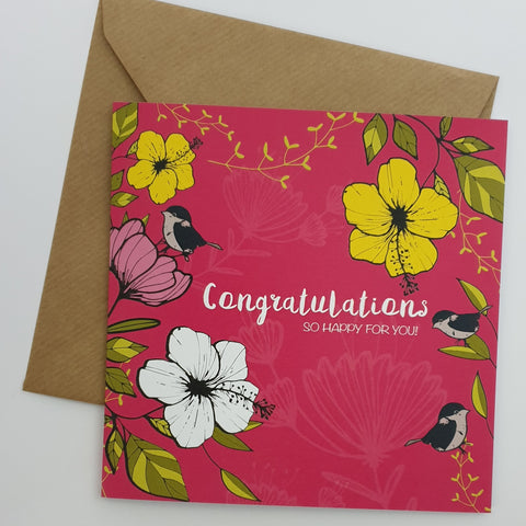 CONGRATULATIONS  TO YOU CARD