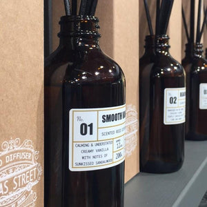 APOTHECARY DIFFUSERS BY THOMAS STREET - LIME & BASIL Nº24