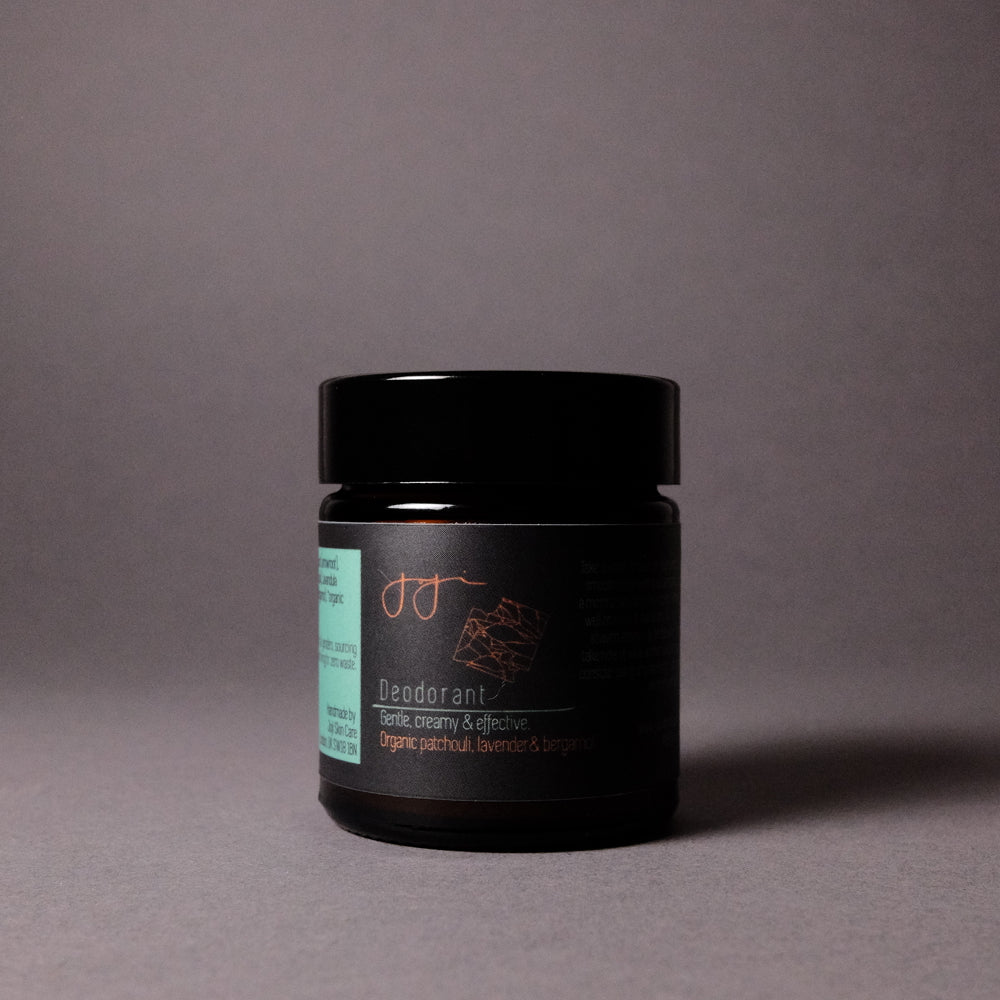 NATURAL DEODORANT - PATCHOULI, LAVANDER AND BERGAMOT