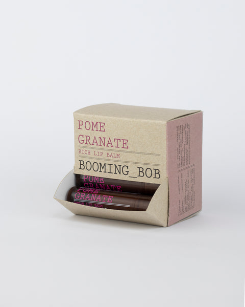 BOOMING BOB - ORGANIC POMEGRANATE LIP BALM