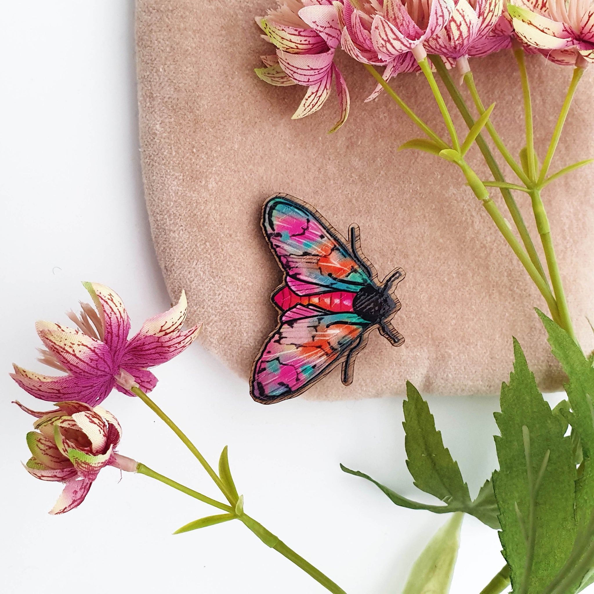 MOTH BROOCH