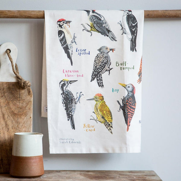 FUNNY ILLUSTRATED TEA TOWELS - PECKERS
