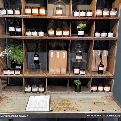 APOTHECARY DIFFUSERS BY THOMAS STREET - CLEAN COTTON Nº12
