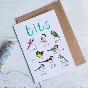 SARAH EDMONDS - TITS CARD