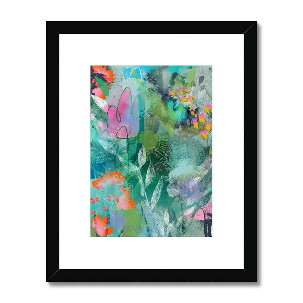 Sinfonia Floral 1 Framed & Mounted Print