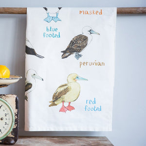 FUNNY ILLUSTRATED TEA TOWELS - BOOBIES