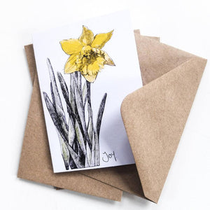 MINI - FLOWERS - THANK YOU NOTELETS WITH ENVELOPE