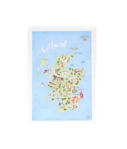SCOTTISH MAP NOTEBOOK