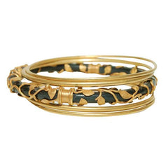 07. Classic Botanical Horn Bangle