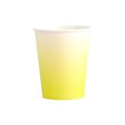 Chartreuse Ombre Paper Cup