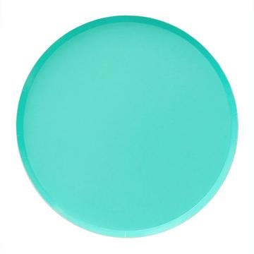 Teal Paper Plates (Small)