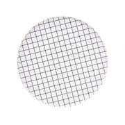 Black & White Grid Plates (Large)