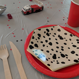 Dalmatian Spotted Small Plate