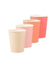 Pretty in Pink Paper Cup Set