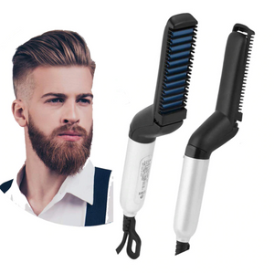 Instant Beard & Hair Straightener For Men