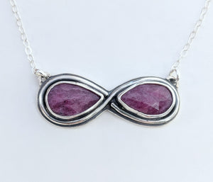 Custom Ruby Necklace