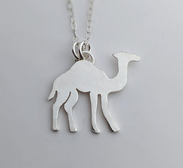 Sterling Silver Camel Necklace