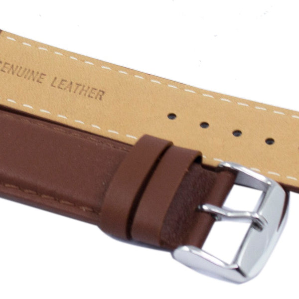 Brown Leather Strap 22mm