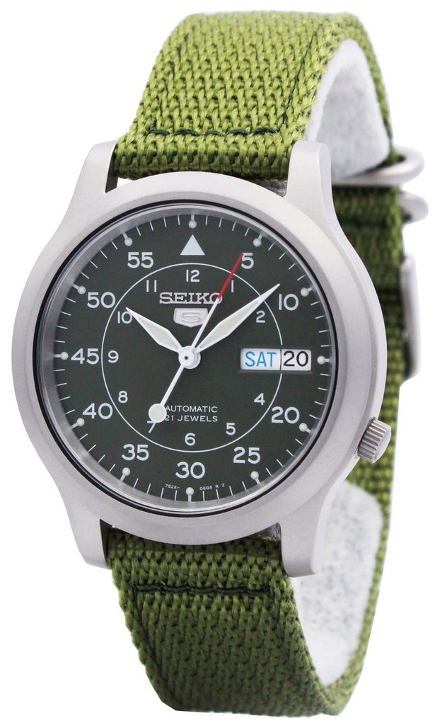Seiko 5 Military Automatic Nylon SNK805K2