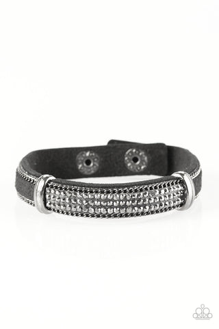 Paparazzi Urban Bracelet - A Walk In The SPARK - Black