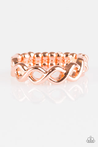 Paparazzi Ring - Follow Your GLEAMS - Copper