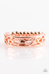 Paparazzi Ring - HEART Me Out! - Copper