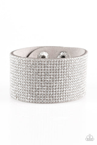 Paparazzi Urban Bracelet - Roll With The Punches - Silver