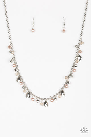 Paparazzi Necklace - Spring Sophistication - Brown