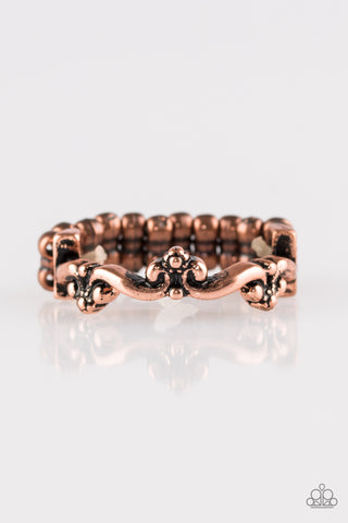 Paparazzi Ring - Serenely Summer - Copper
