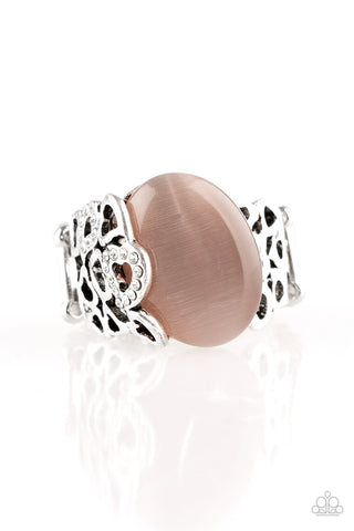Paparazzi Ring - So In Love - Brown