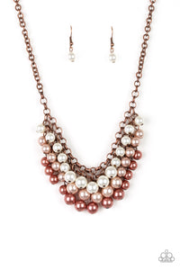 Paparazzi Necklace - Run For The Heels! - Copper