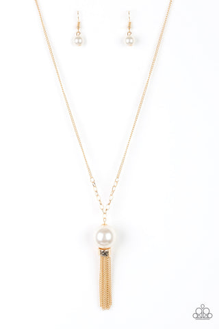 Paparazzi Necklace - Bell Of The BALLROOM - Gold