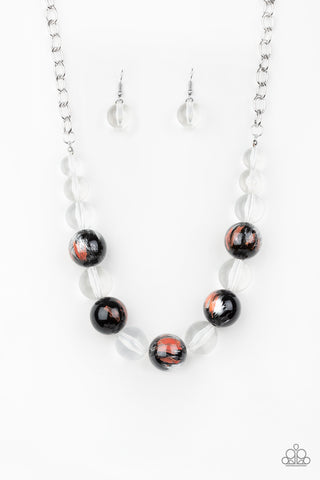 Paparazzi Necklace - Torrid Tide - Orange