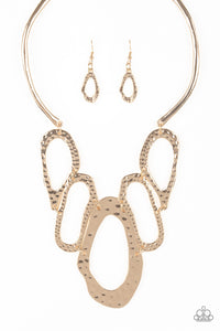Paparazzi Necklace - Prime Prowess - Gold