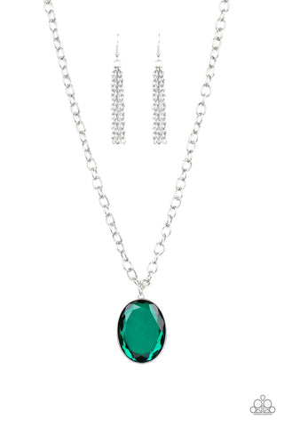 Paparazzi Necklace - Light As HEIR - Green