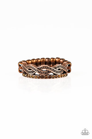 Paparazzi Ring - Unstoppable Shine - Copper