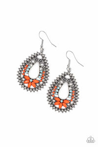 Paparazzi Earring - Atta-GALA - Orange