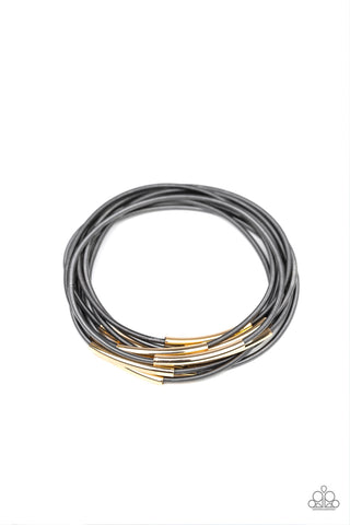 Paparzzi Bracelet - Stretch Your Boundaries - Black
